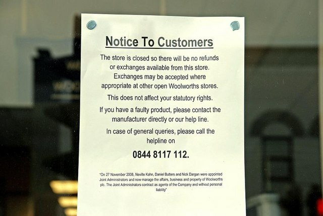 English: Woolworth's, Banbridge (3of3) See 110...