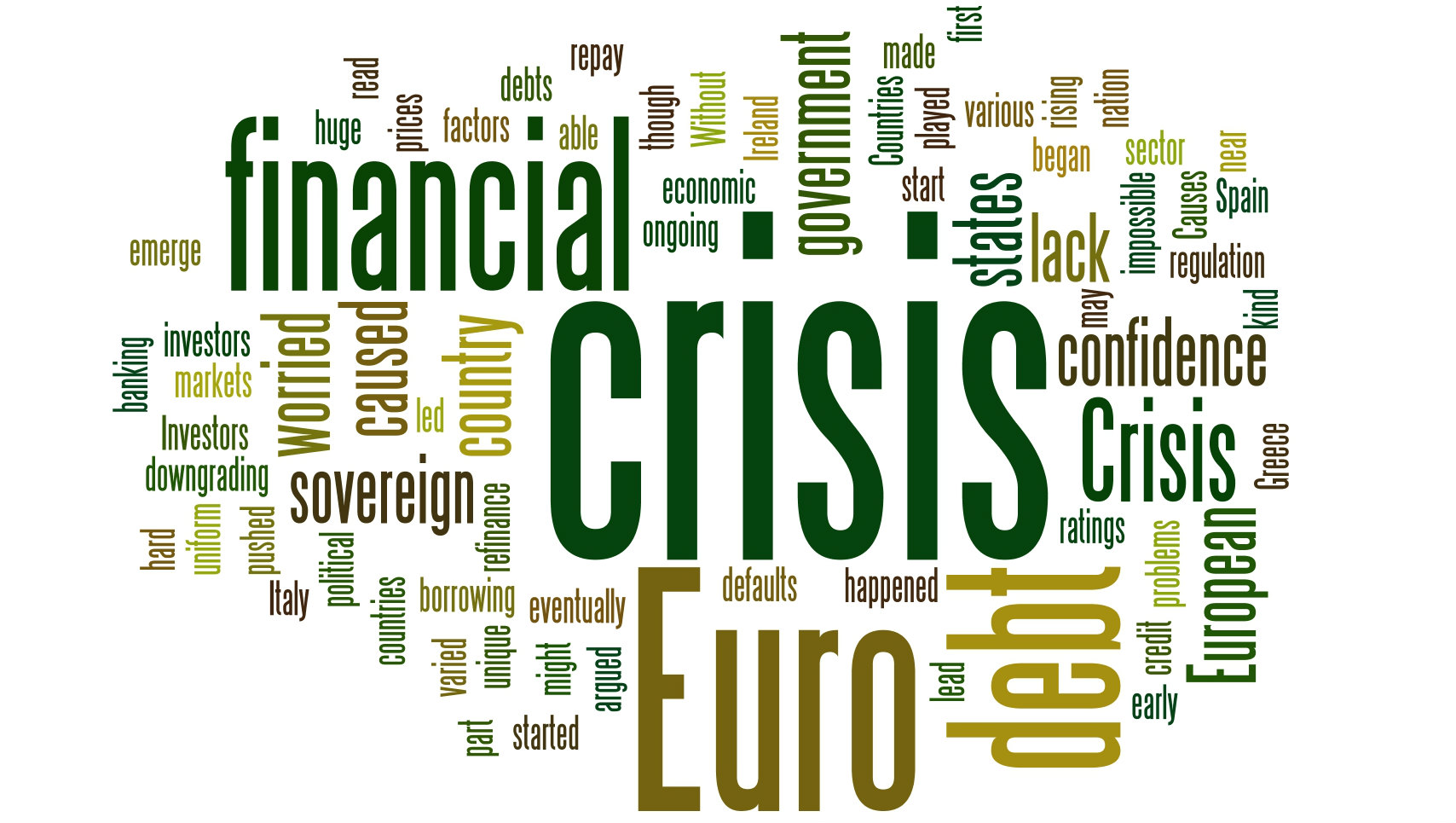 Financial Crisis Logo