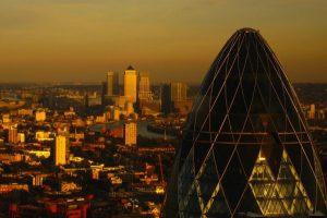 London_-_The_Gherkin_&_Canary_Wharf